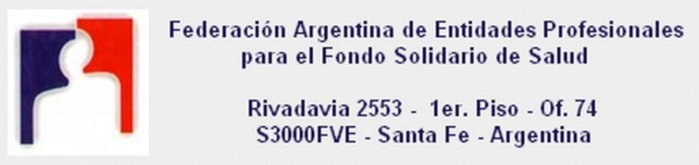 Federación Arg de Entidades Prof para el Fondo Solidario de Salud